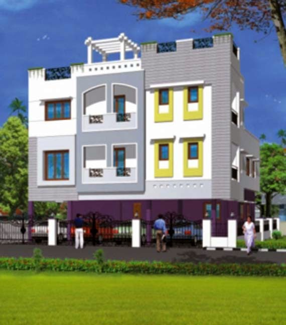Front Elevation Of Residential Houses : Residential building front elevations in bangalore joy