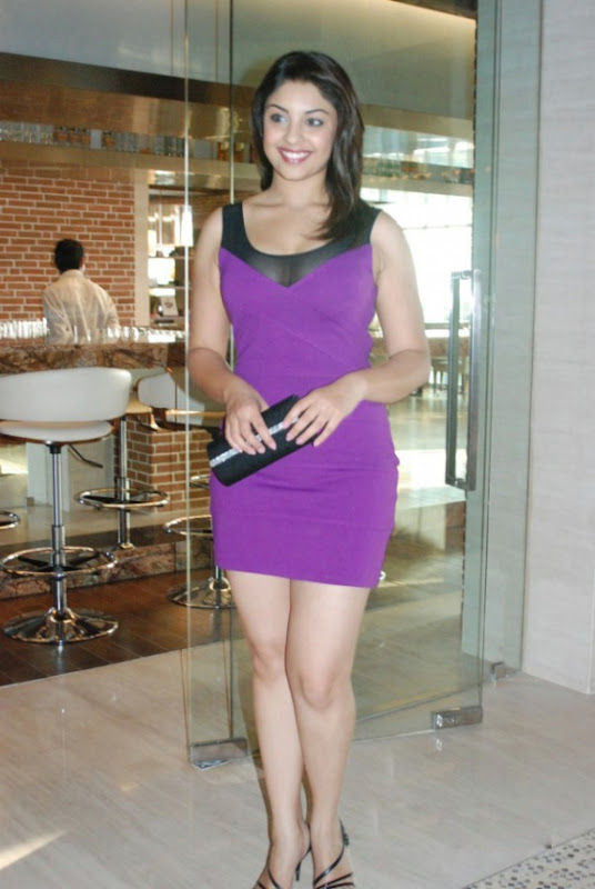 Richa Gangopadhyay In Hot Purple Dress Short Skirt Photos Stills hot images