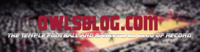OwlsBlog - THE Temple Football and Basketball Blog