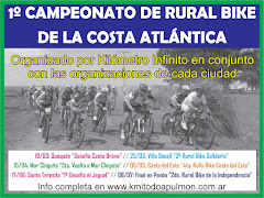 CLASIFICACION FINAL DEL CAMPEONATO DE RURAL BIKE DE LA COSTA ATLANTICA