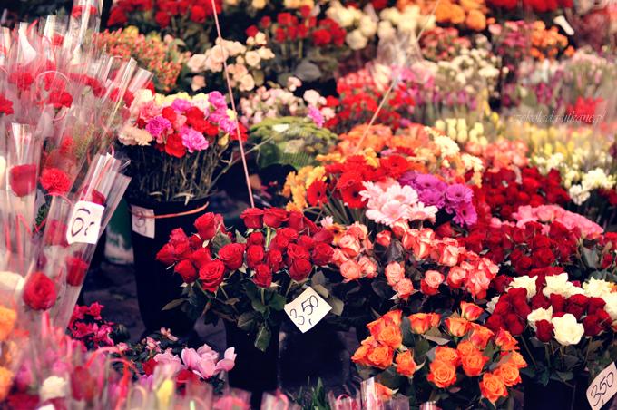 stragany, z kwiatami, w toruniu