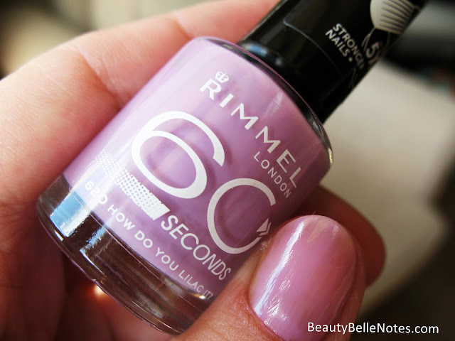 Rimmel London 60 Seconds Nail Polish: 620 How do you lilac it?