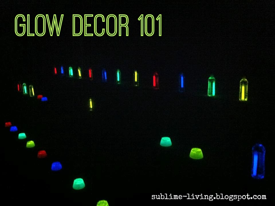 sublimeliving family friendly glow party ideas be a. Black Bedroom Furniture Sets. Home Design Ideas