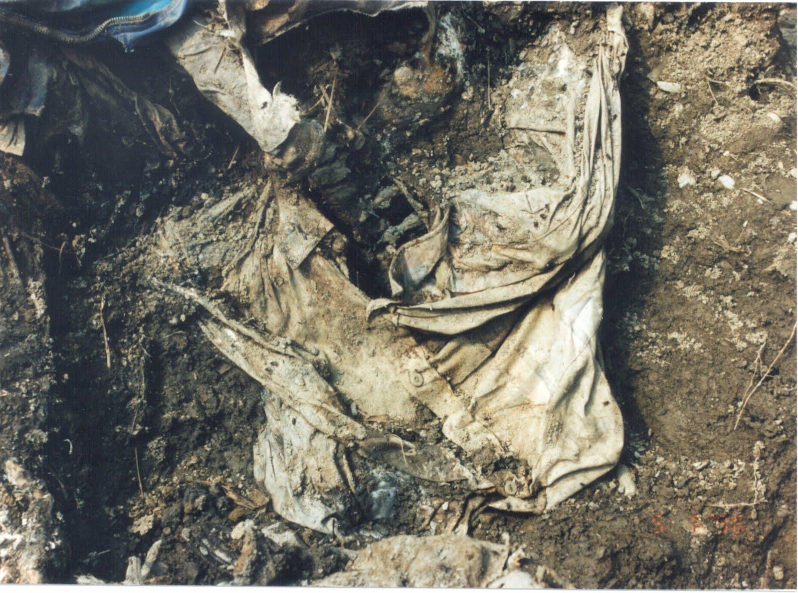 ... Srebrenica massacre. Exhibit P31. Photo courtesy of the International
