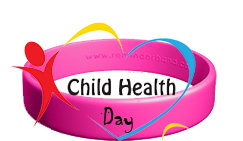 Child health day wristbands