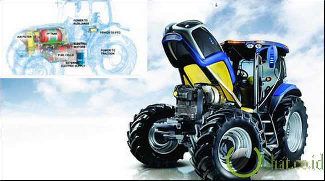 The Hydrogen Fuel Cell Tractor