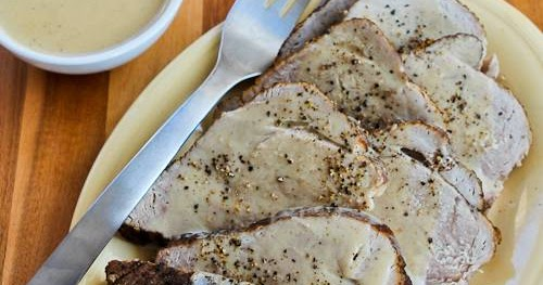 Kalyn's Kitchen®: Slow Cooker Bavarian Pork Sirloin Tip ...