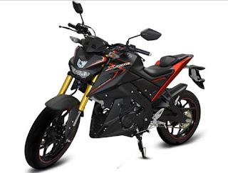 Yamaha Xabre 150 Matt Black
