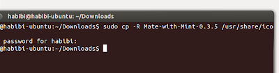 Mengganti dan Menambahkan Icon di Ubuntu