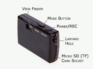 cara menggunakan kamera mini dv 5mp