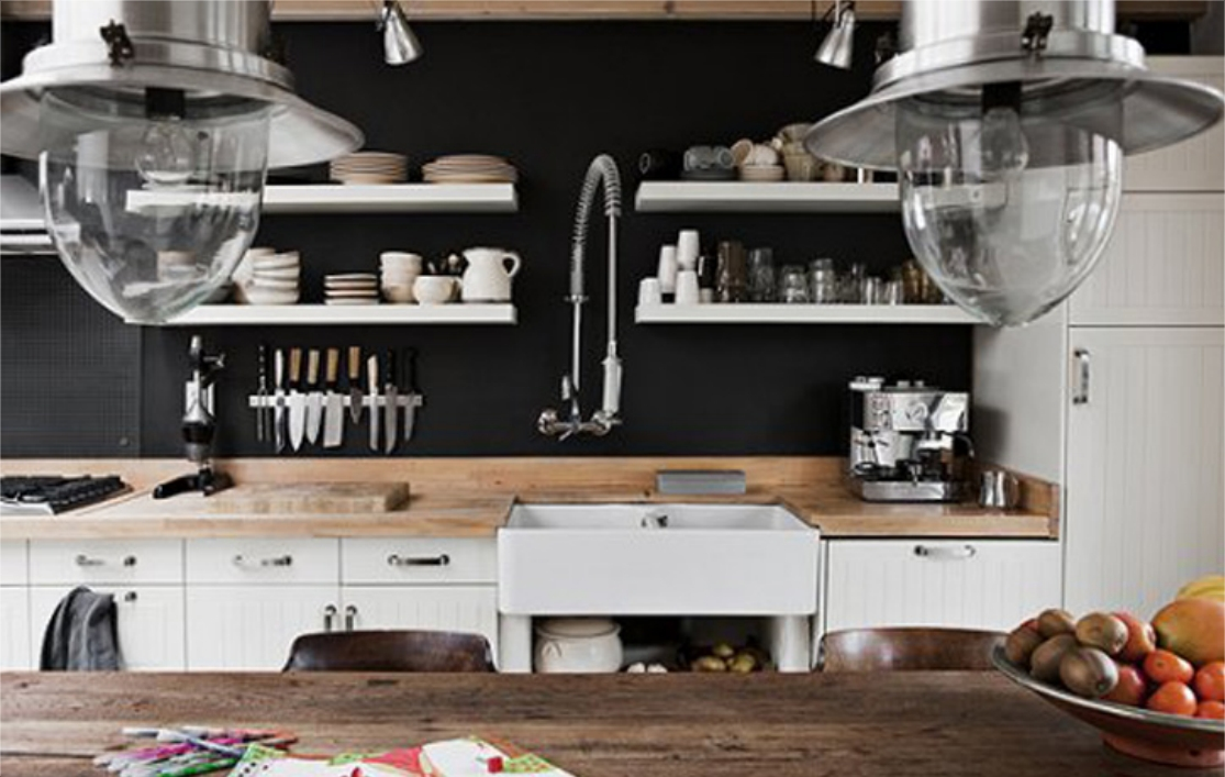 Dobre projekty blog kolejna industrialna kuchnia for Kitchen ideas not white