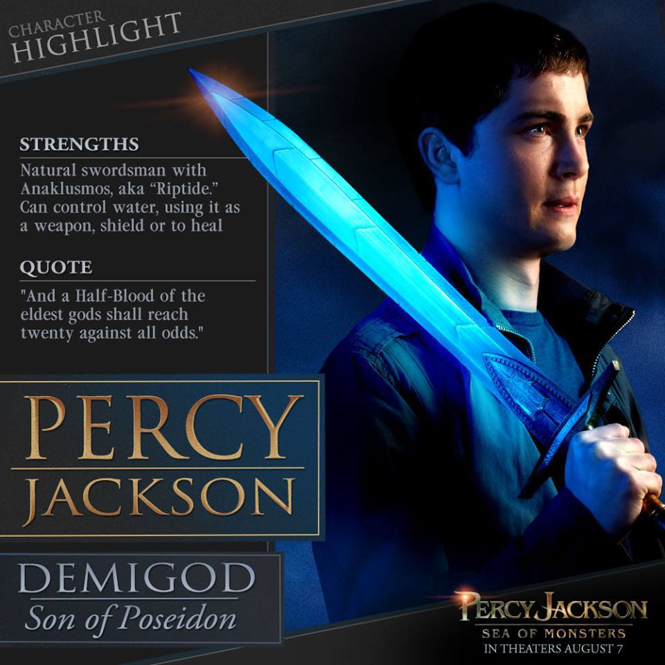 Percy Jackson: Sea of Monsters Infographics