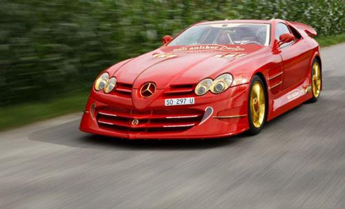 mobil sport keren dari mercy mobil sport keren warna merah