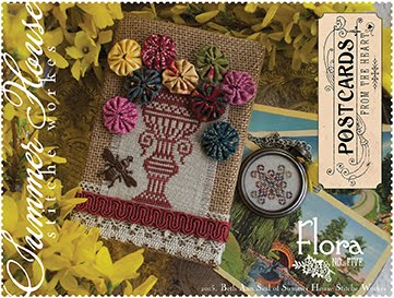 Postcards from the Heart - no. 5 - Flora