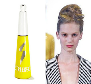 oscar-dela-renta-springsummer2013-streaked-hair-yellow