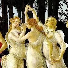 JO deux femmes  - Page 2 La+primavera,+botticelli+1482