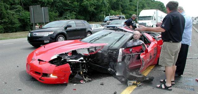 Accidente de trafico y via penal