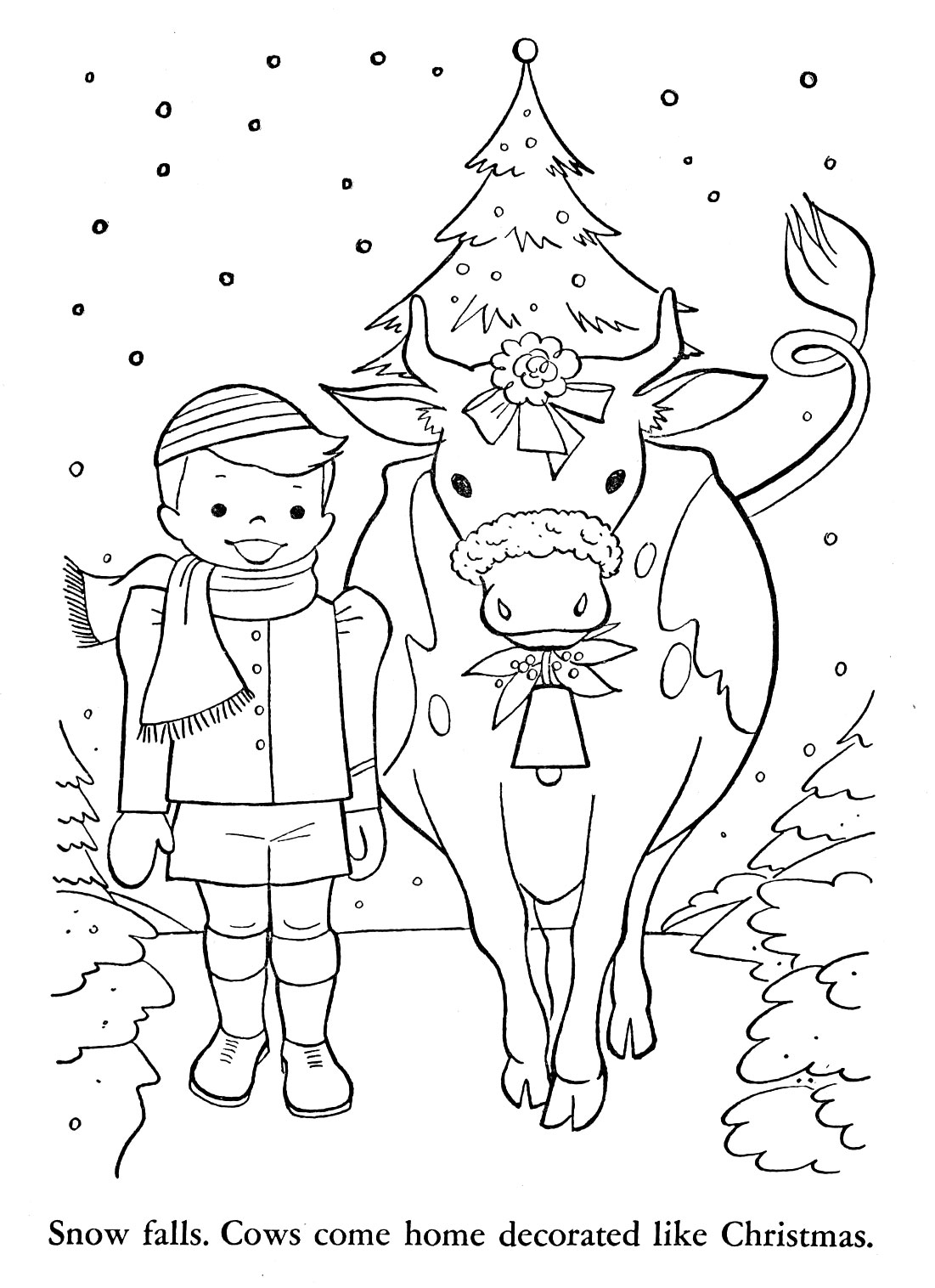 swiss scenes coloring pages - photo#9
