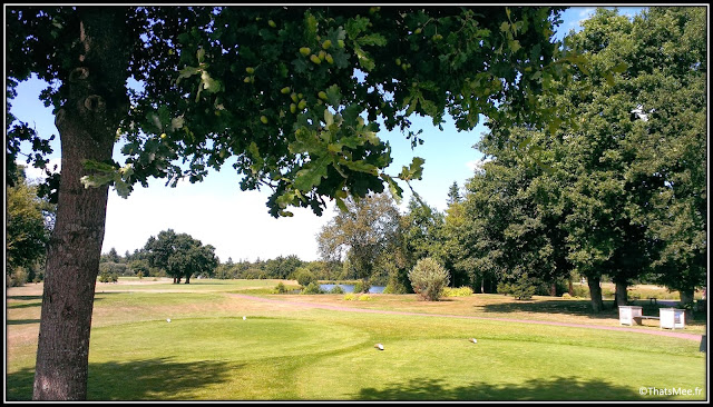 Spa Cicé domaine Blossac terrain golf Bretagne proche Rennes 18 trous