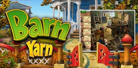 لعبة الاشياء المفقودة Barn Yarn
