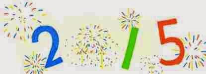 Año Nuevo 2015: Google lo festeja con un doodle con fuegos de artificio