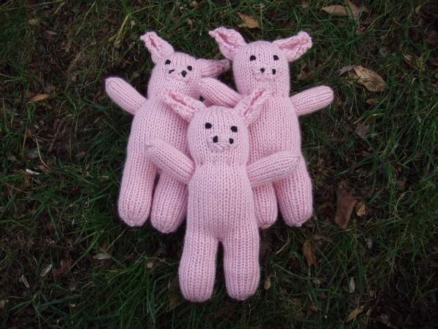 Stanas Critters Etc Knitting Pattern For Mini Pig