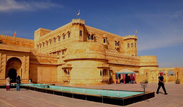 Jaisalmer Stone Elevation : On the move june