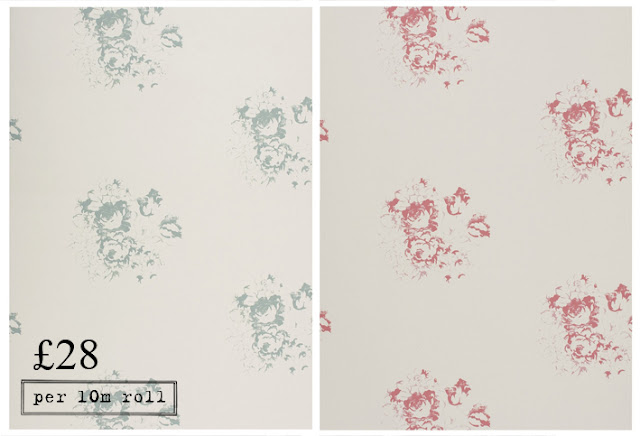 Natural Hatley Wallpaper Floral Print
