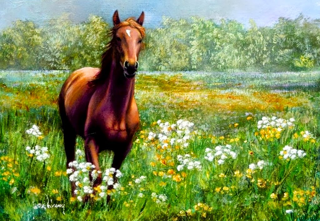 cuadros-caballos-oleo