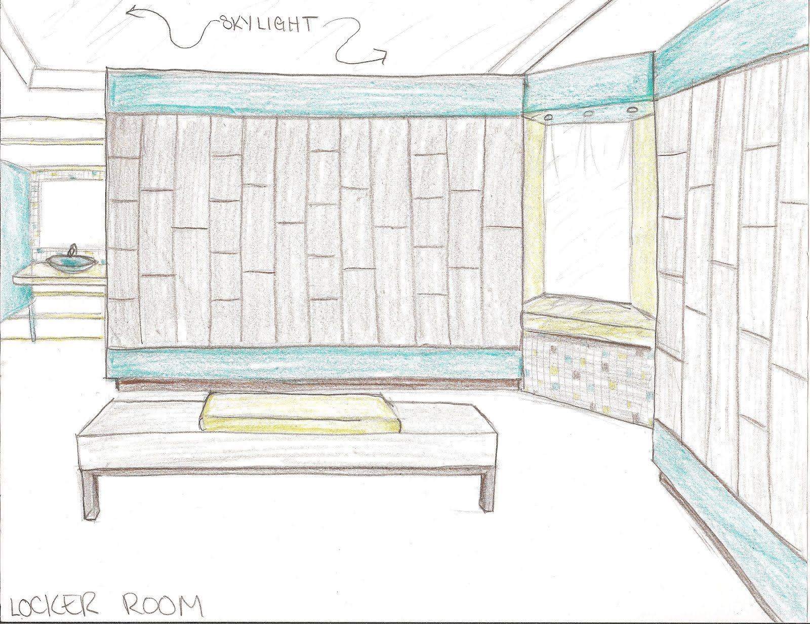 Captivated By Design Locker Room Charette