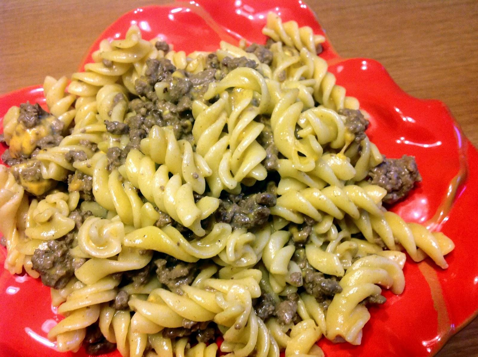 homemade hamburger helper cheeseburger pasta 1 lb lean ground beef