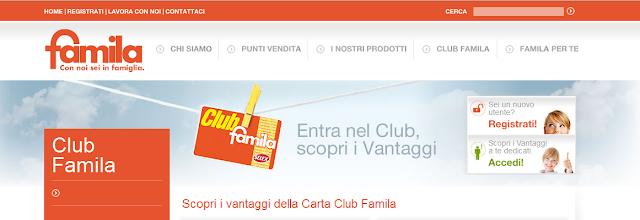 Carta Club Famila