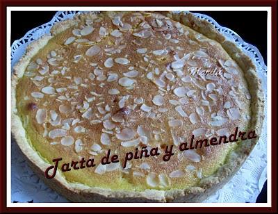 TARTA DE PIÑA Y ALMENDRA SL371528