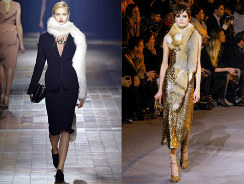 Lanvin and Marc Jacobs