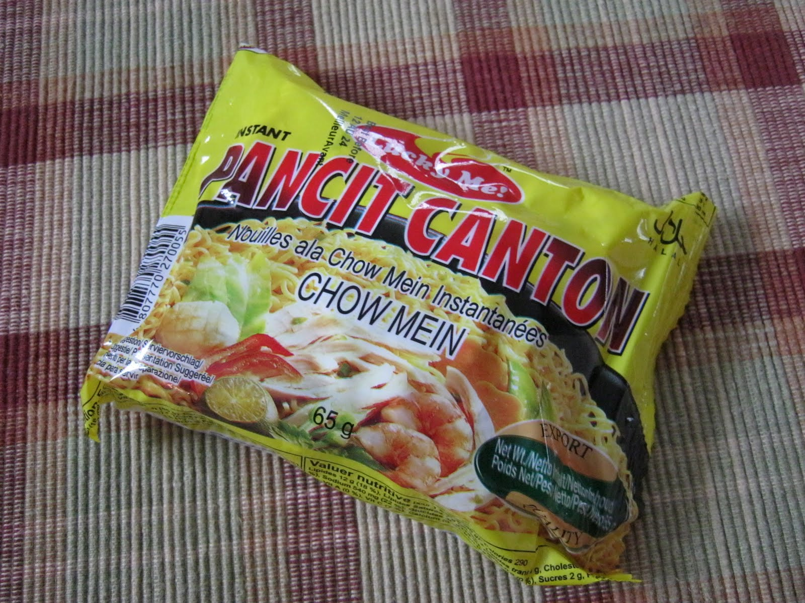 how to cook lucky me pancit canton with egg
