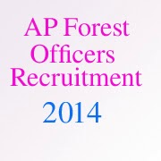 AP forest department recruitment 2013-14