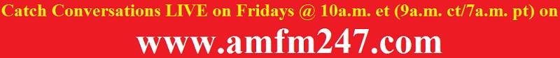 Conversations LIVE on AMFM247.com