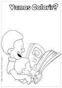 Desenho de Dia do Livro Infantil para colorir (desenho do dia do livro infantil para colorir ideia criativa lindas imagens dibujos ideia criativa )