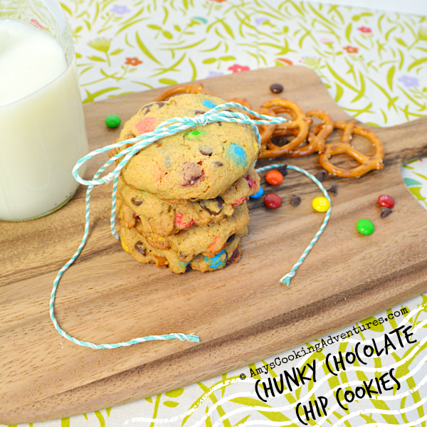 Chunky peanut, chocolate, and cinnamon cookies and laughs galore ...