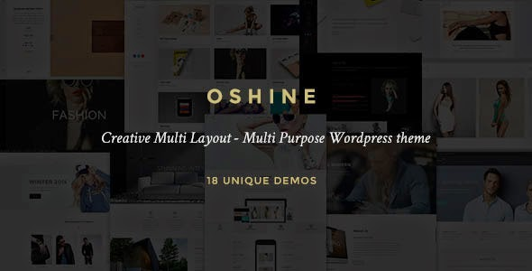 Oshin - Creative Multi-Purpose Wordpress Theme