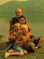Лера, Вадим и дети