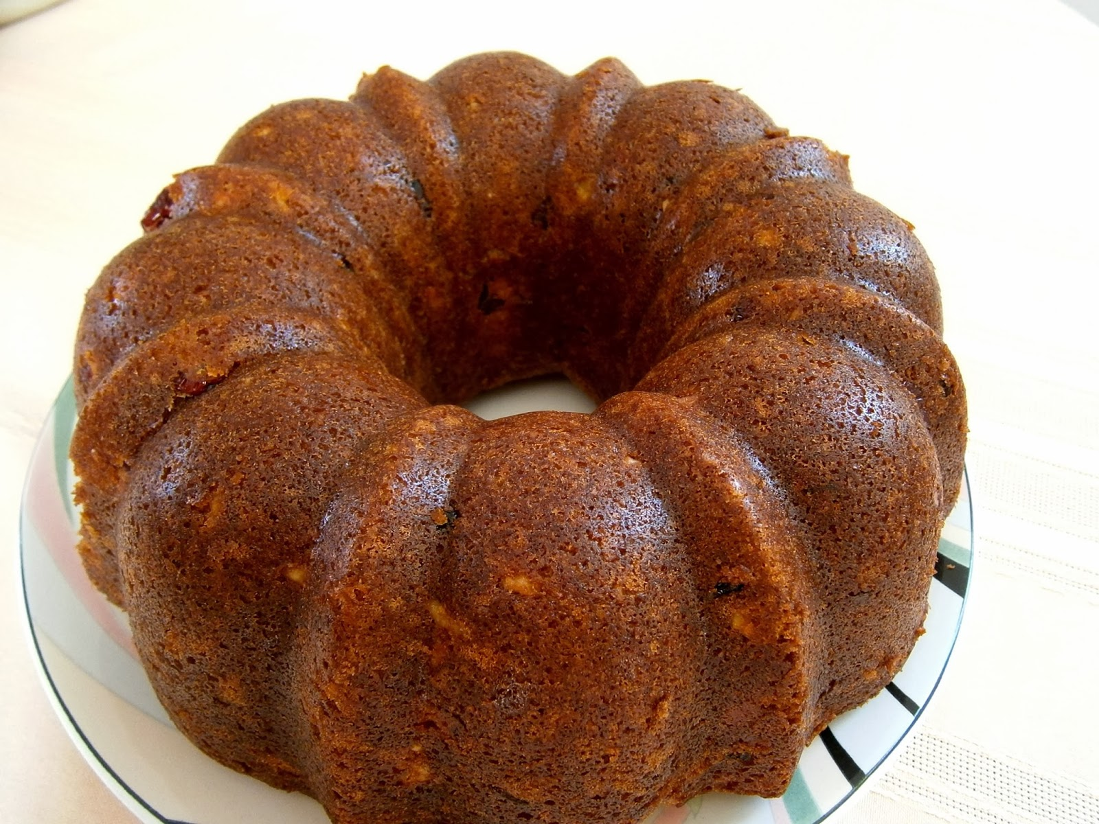 SucreSuKo: The Best Cranberry Orange Bundt Cake
