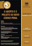 Palestra O Aborto e o Projeto do Novo Código Penal - RJ, 23/05/2012