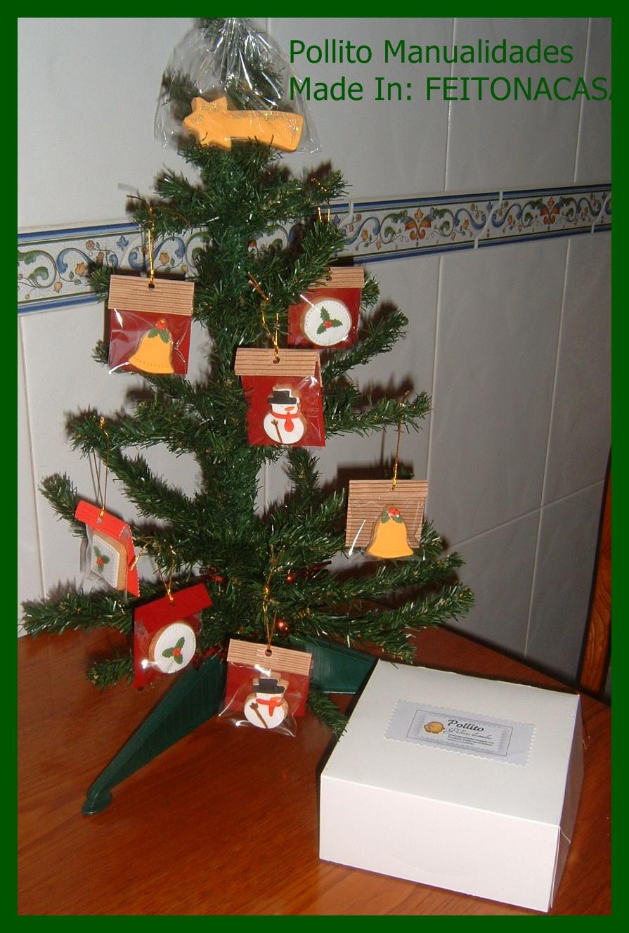Pollito manualidades decora tu rbol de navidad con galletas - Decora tu arbol de navidad ...