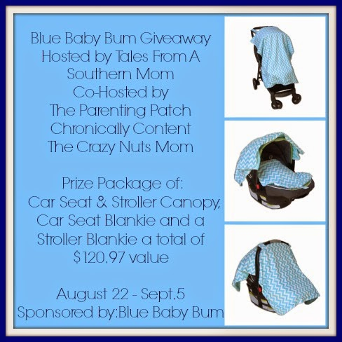 Enter To Win Blue Baby Bum