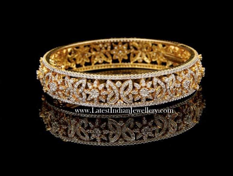 Magnificent Diamond Bangle