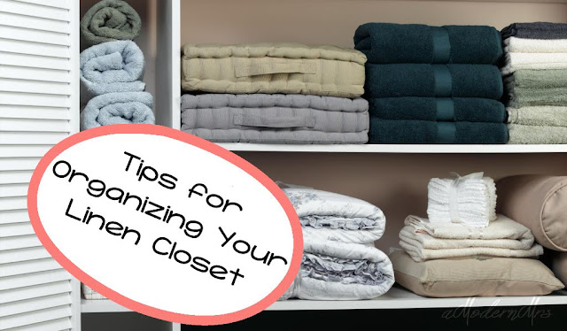 Tips for Organizing Your Linen Closet — amodernmrs.com