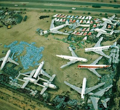 aeronaves - Davis-Monthan AFB - o maior cemitério de aeronaves do mundo  AMARC+-+Yard+of+Southwest+Alloys