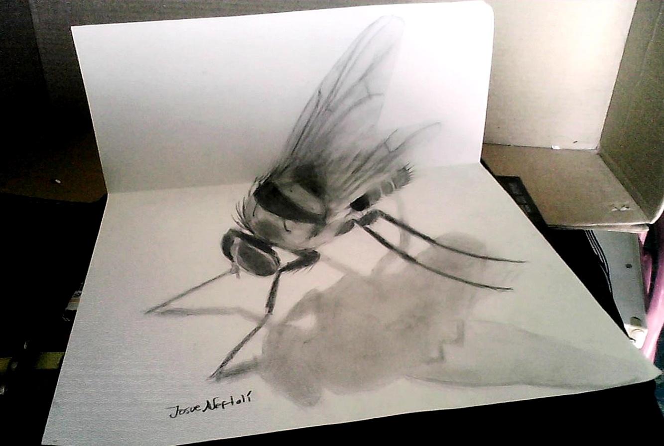 Dibujando en vivo Dibujo+3d+drawing