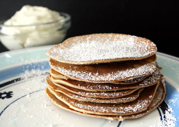 CranberryJam: Meduoliniai Blynai/ Gingerbread Pancakes